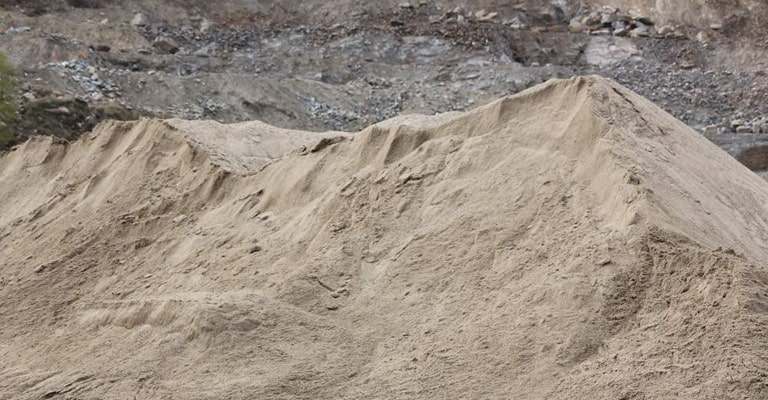 sand and gravel near me